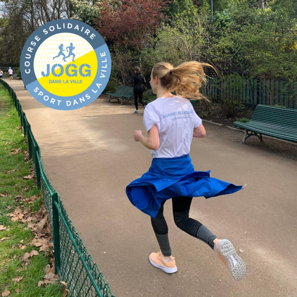 Image de La course solidaire Jogg dans la ville organisée par Sport dans la Ville adaptée en 100% connectée