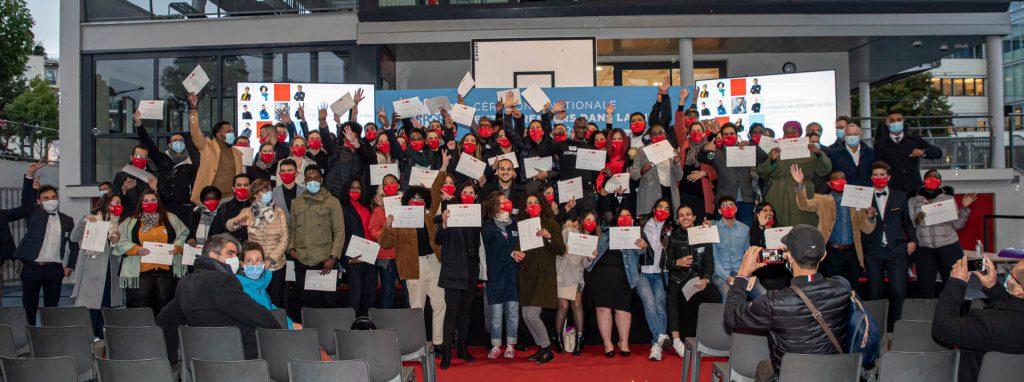 Image de 90 entrepreneurs réunis sur notre campus